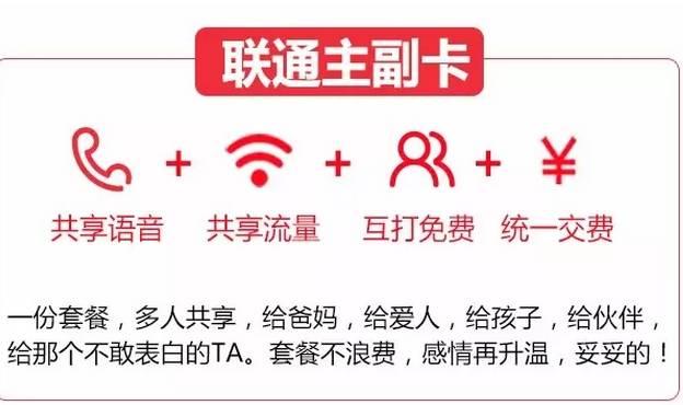 巴中联通告诉你:4G如何免费互打