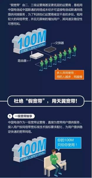 黄冈电信:天翼宽带100兆,实力担当真宽带!