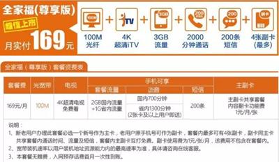 仙桃电信:100M光纤、4K高清电视免费用!