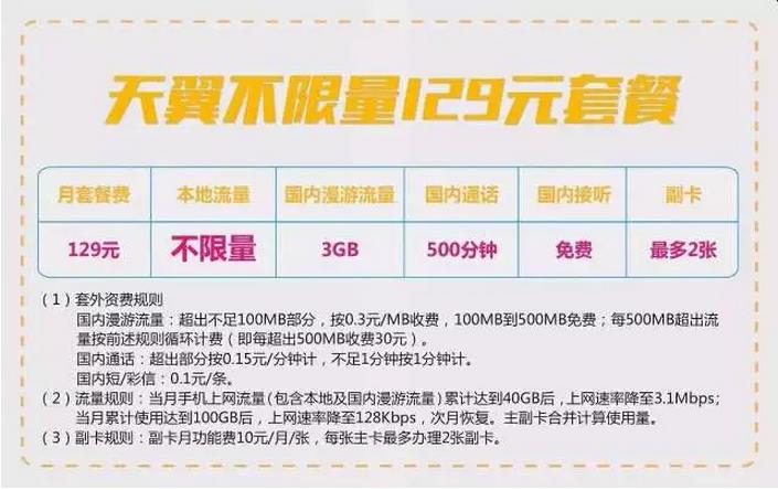北京电信套餐