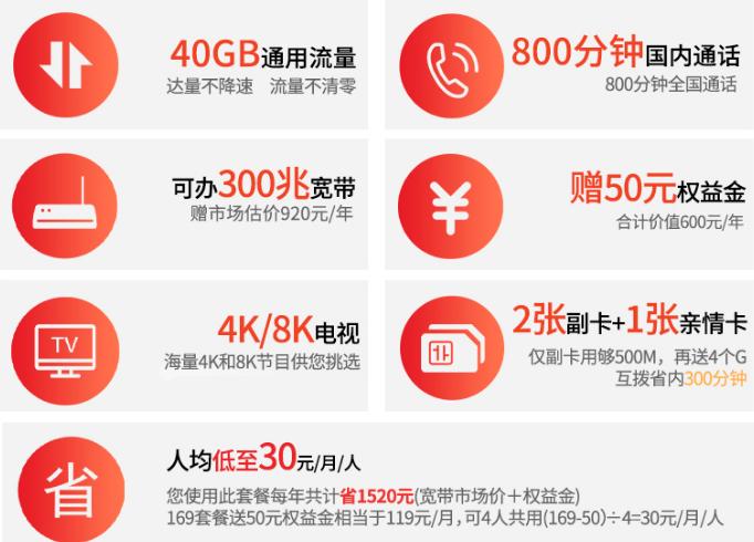 连云港电信5G套餐-169档