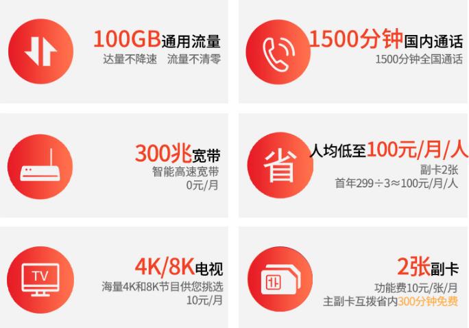 连云港电信5G套餐-299元